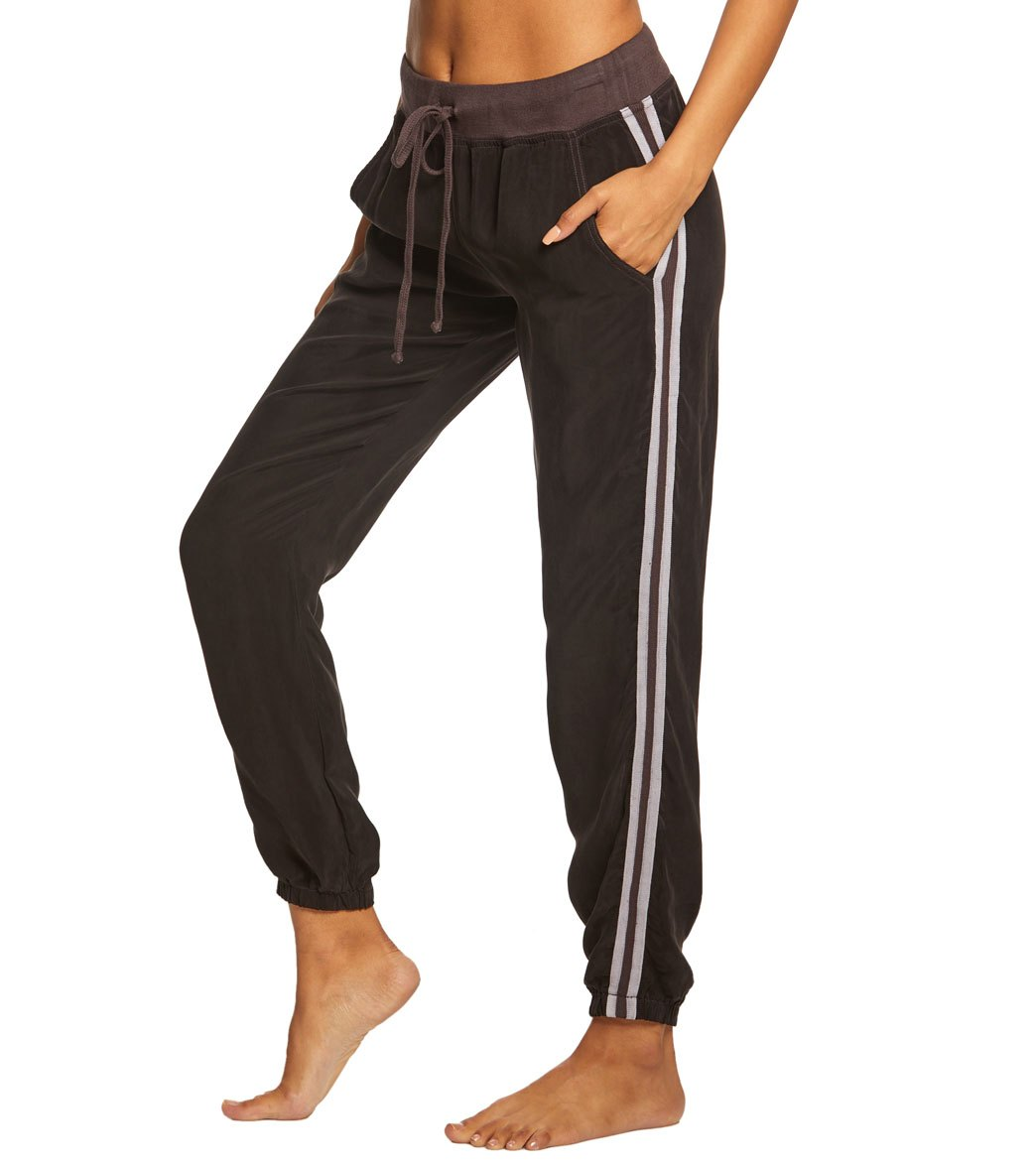 Hard Tail Speed Racer Jogger Pants - Raven Cotton