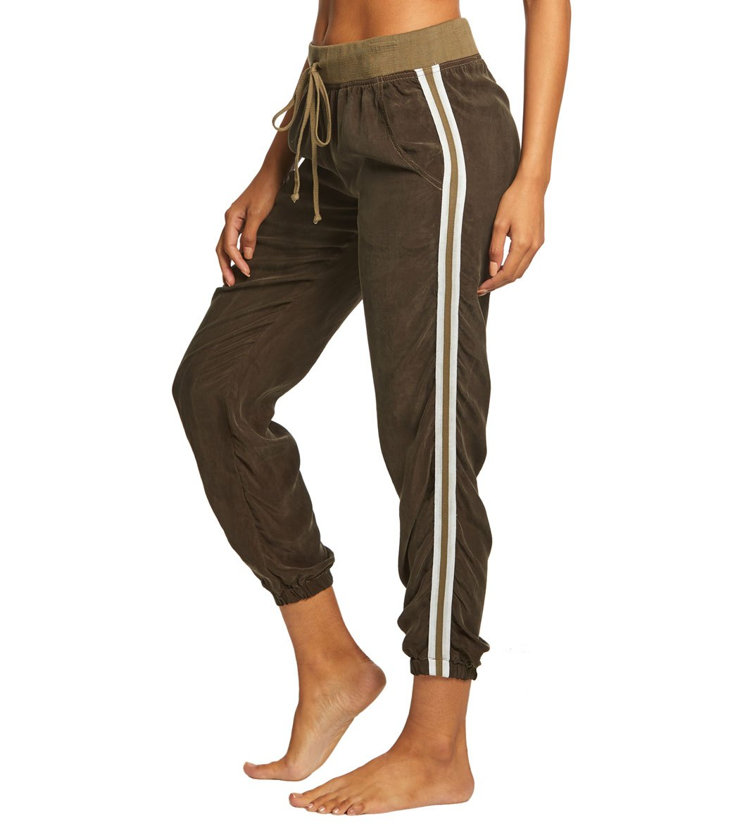Hard Tail Speed Racer Jogger Pants - Olive Cotton