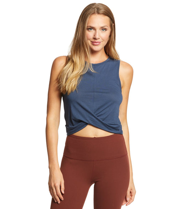 Beyond Yoga Crossroads Reversible Cropped Tank