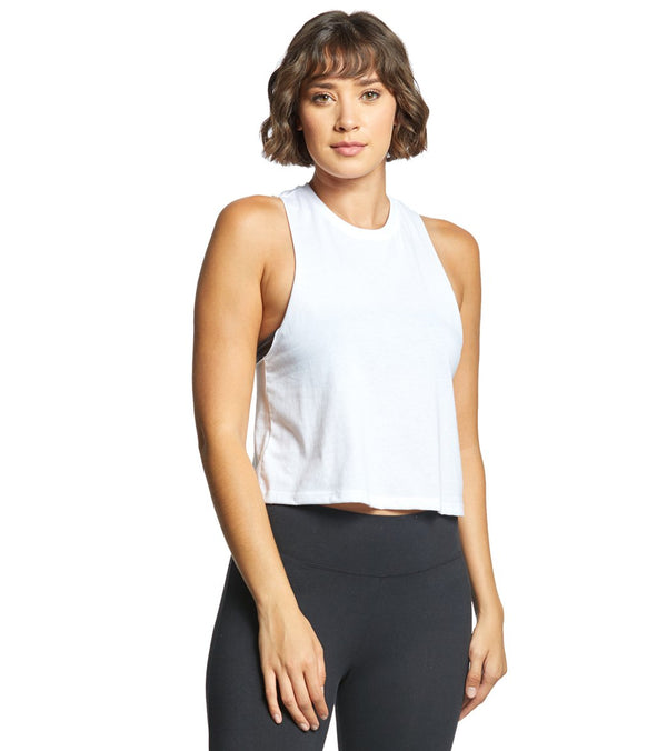 Bella + Canvas Racerback Crop Tank