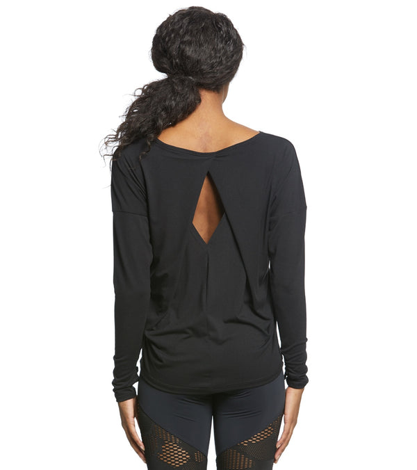 Onzie Diamond Back Long Sleeve Top