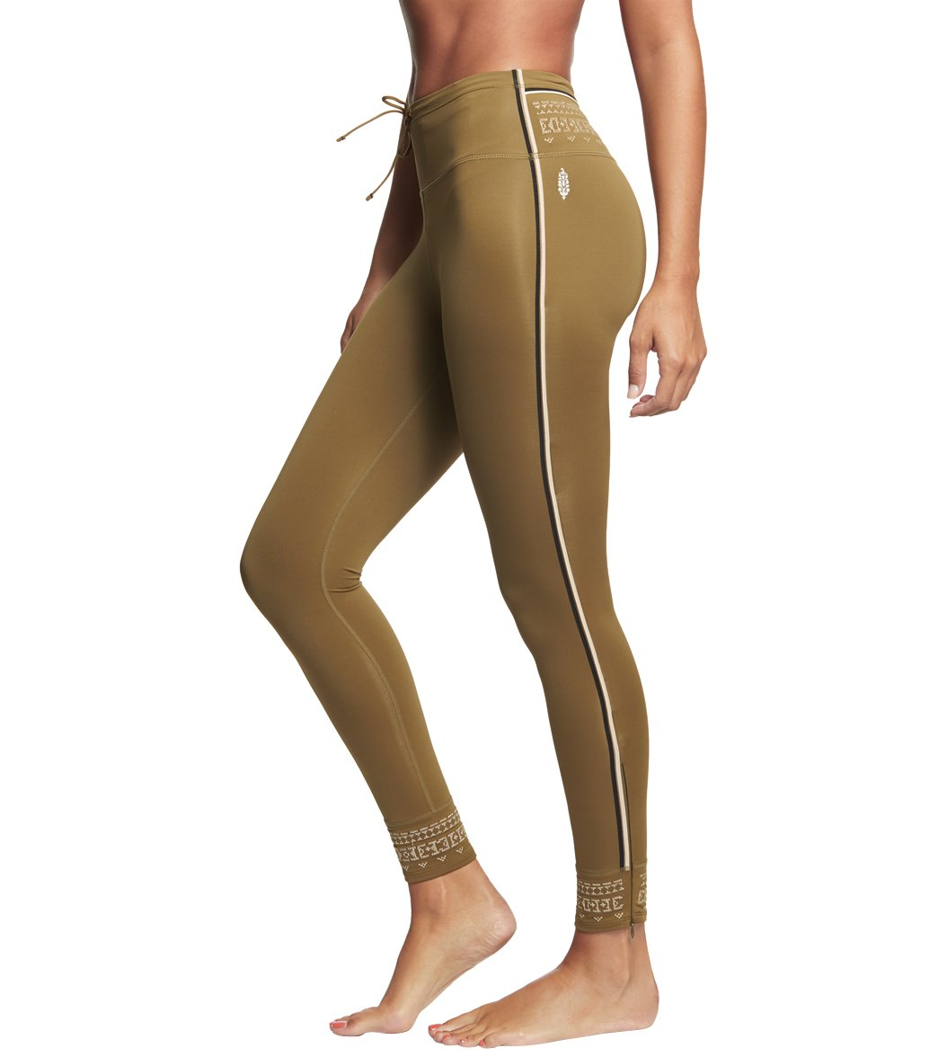 Free People Movement Spin Leggings - Army Spandex