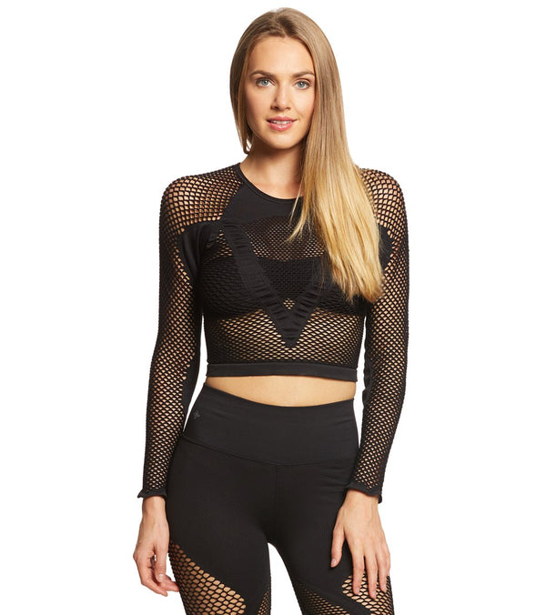 NUX All Net Seamless Long Sleeve