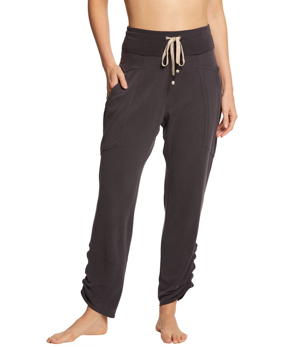 Free People Movement Ready Go Pants - Black Spandex