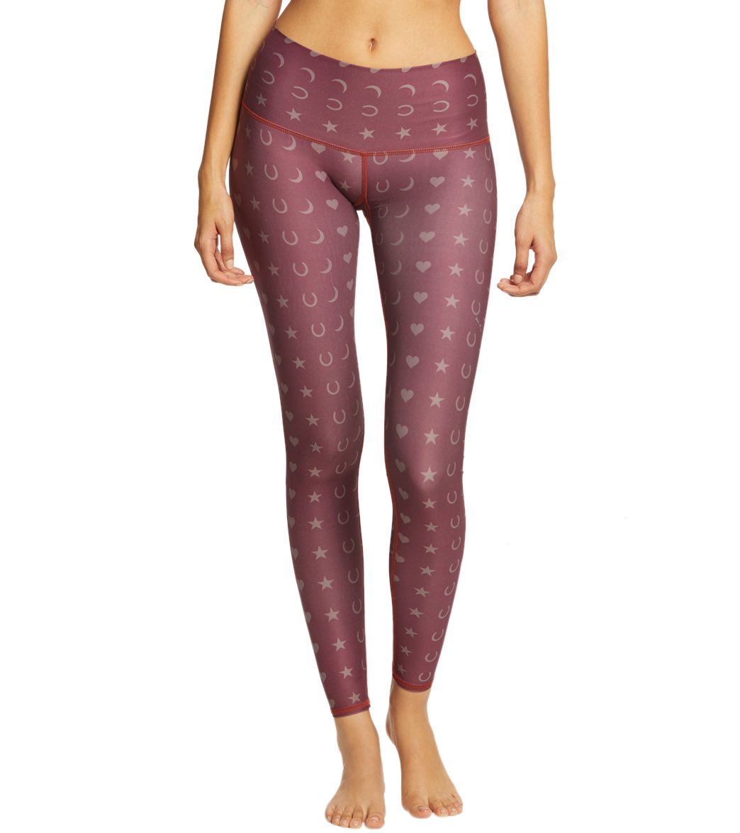 dbe8aca5c500fe Teeki Fortune Teller Hot Yoga Pants at YogaOutlet.com - Free Shipping