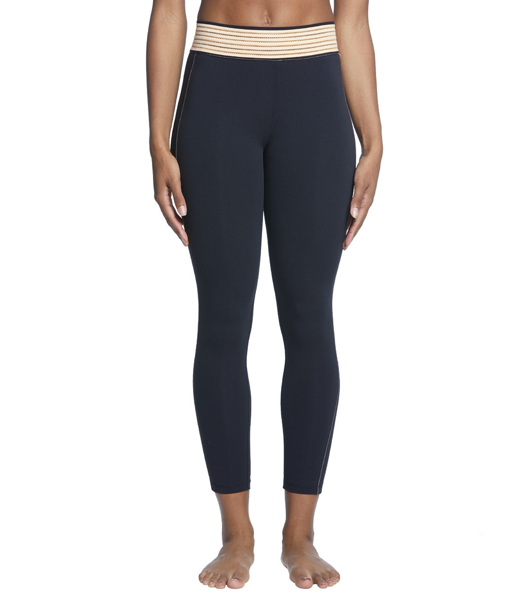 Free People Movement Solid Practice Makes Perfect Yoga Leggings - Black Spandex