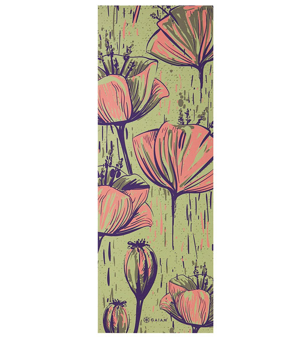 "Gaiam In Bloom Classic Yoga Mat 68"" 4mm"