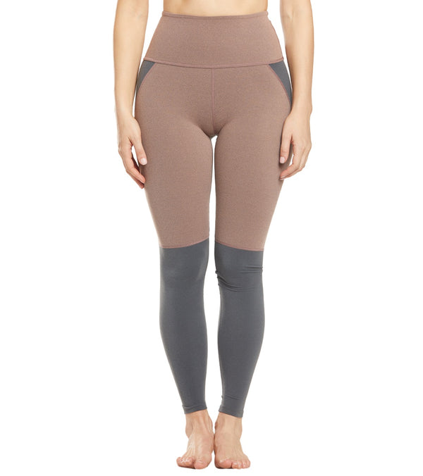 Beyond Yoga Next Colorblock High Waisted Long Yoga Leggings