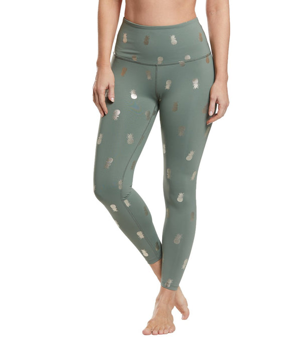 Beyond Yoga Tropical High Waisted 7/8 Yoga Leggings