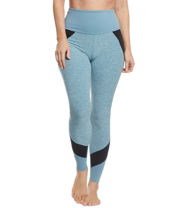 Beyond Yoga Colorblocked High Waisted Long Yoga Leggings