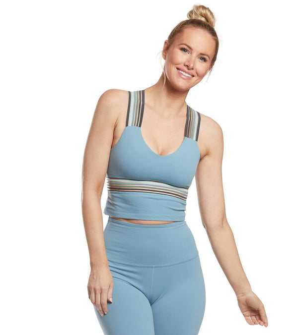 Beyond Yoga Get Your Filament Cropped Yoga Tank