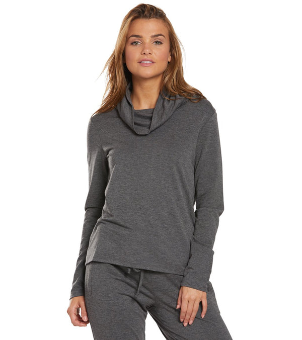 Marika Madison After Yoga Cowl Neck Pullover