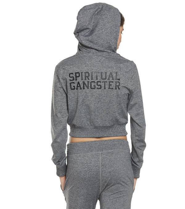 Spiritual Gangster Inner Light Cropped Hoodie