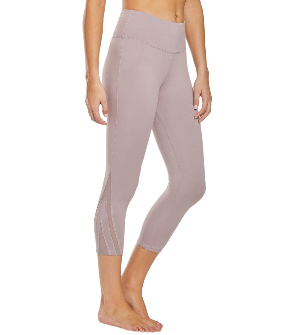 Balance Collection Amanda Yoga Capri Pants - Quail Cotton