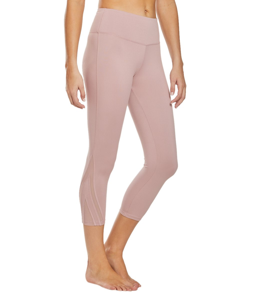 Balance Collection Amanda Yoga Capri Pants - Woodrose Cotton