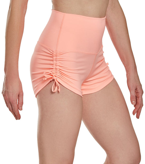 Mika Yoga Wear Lucia High Waisted Yoga Shorts