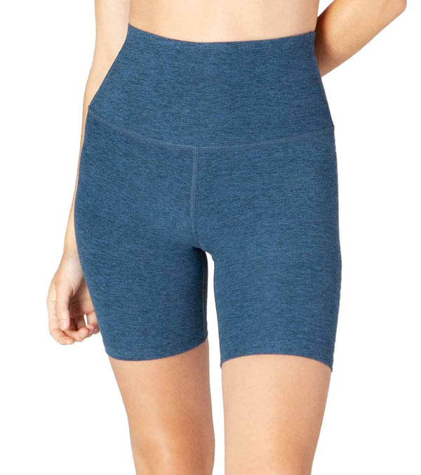 Beyond Yoga Spacedye High Waisted Biker Yoga Shorts