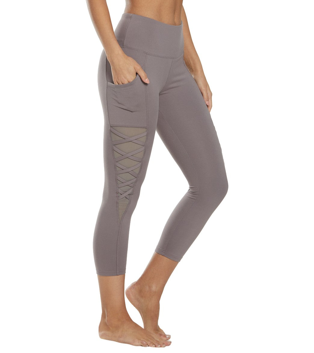 Balance Collection Nadya Yoga Capri Pants - Coco Cotton