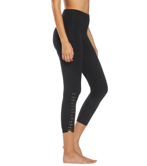 Hard Tail Laced Yoga Capris