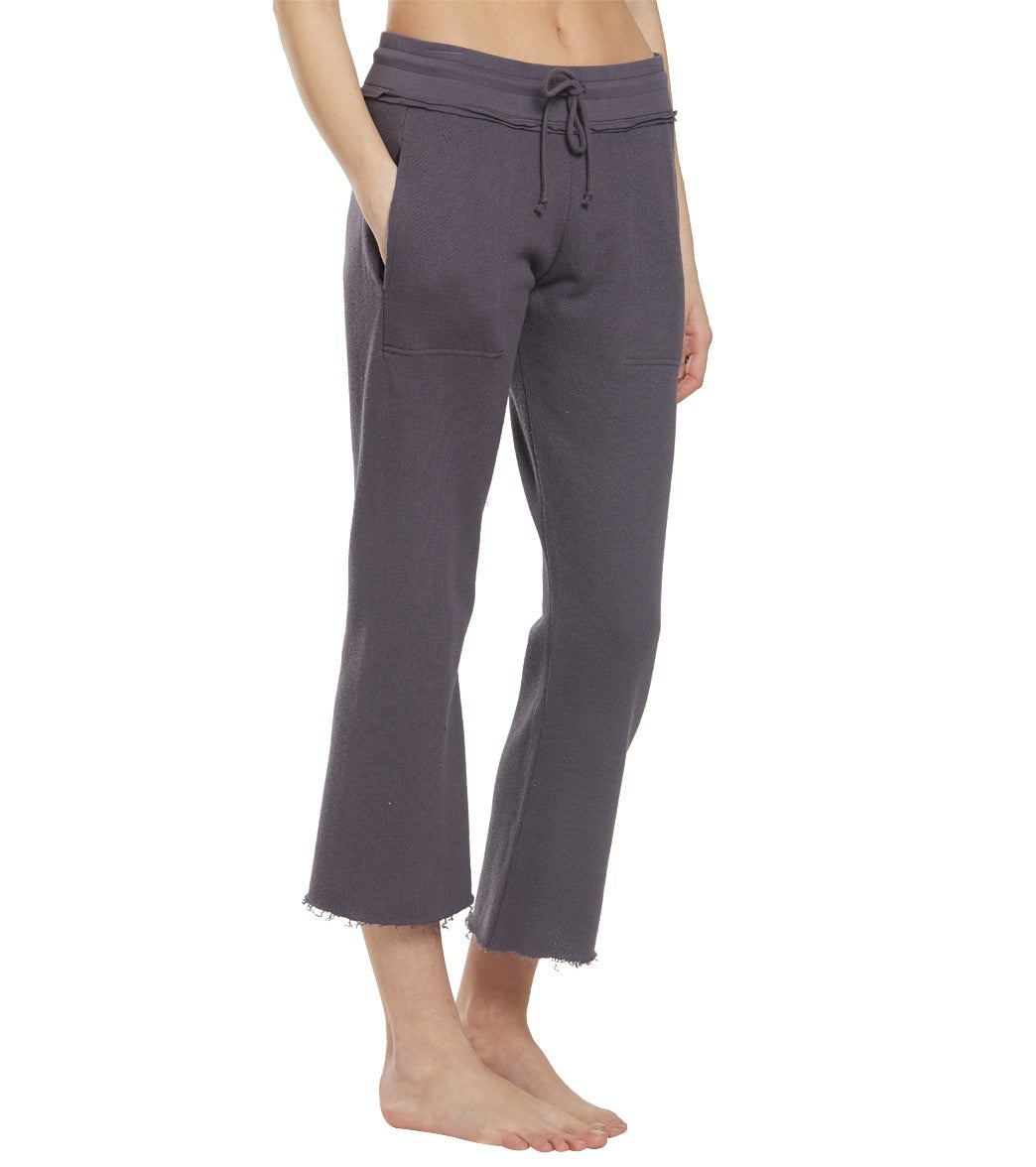 Free People Movement Reyes Jogger Pants - Graphite Cotton