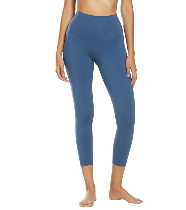 DYI Signature Jersey Moss High Waisted 7/8 Yoga Leggings