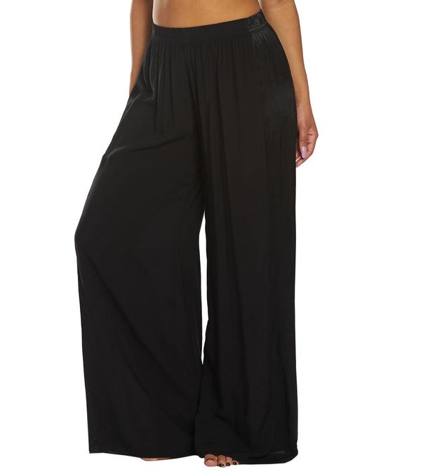 Hard Tail Racer Stripe Wide Leg Pants