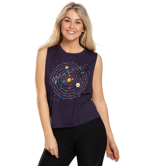 Everyday Yoga Planetarium Workout Muscle Tank
