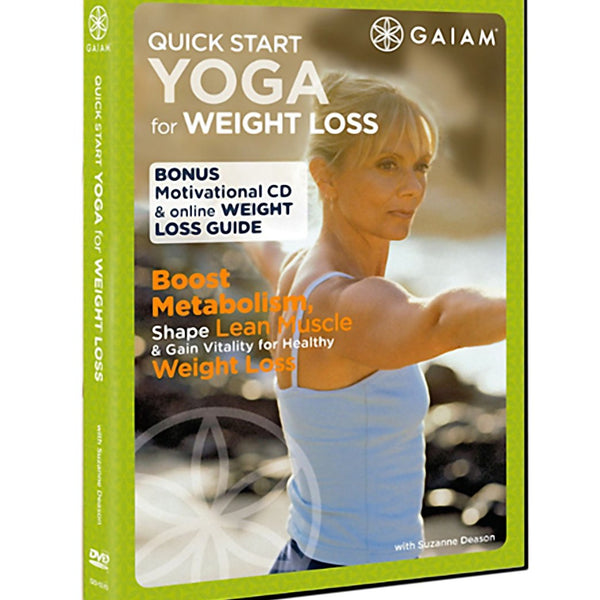 Gaiam Quick Start Yoga For Weight Loss Dvd At Yogaoutlet Com