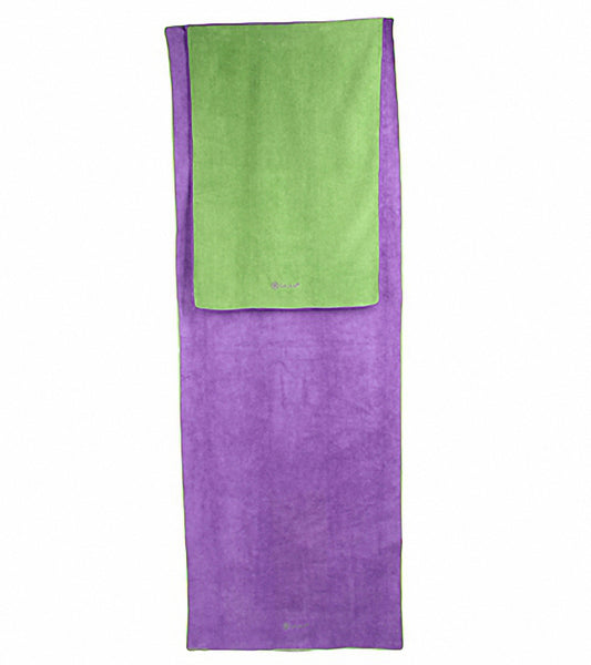 Gaiam Thisty Yoga Towel 2 Pack At Yogaoutlet Com