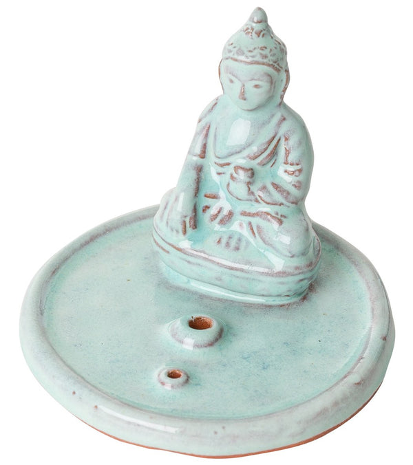dZi Incense Buddha Holder