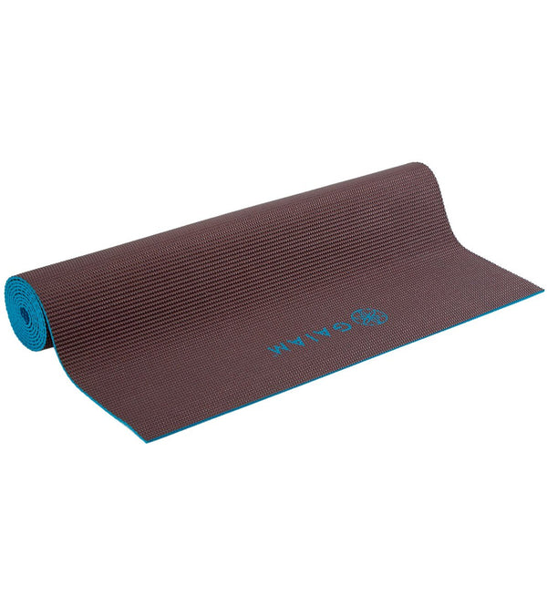 "Gaiam 2-Color Yoga Mat 68"" 4mm"