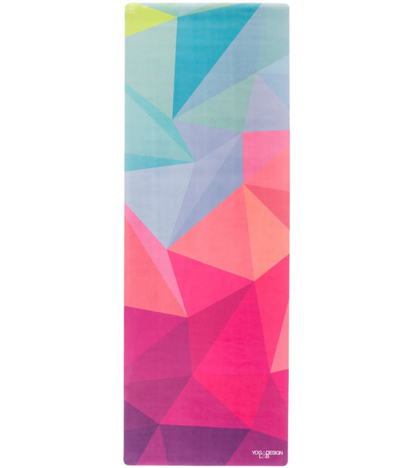 "Yoga Design Lab Geo Yoga Mat Towel Combo 70"" 3.5mm"