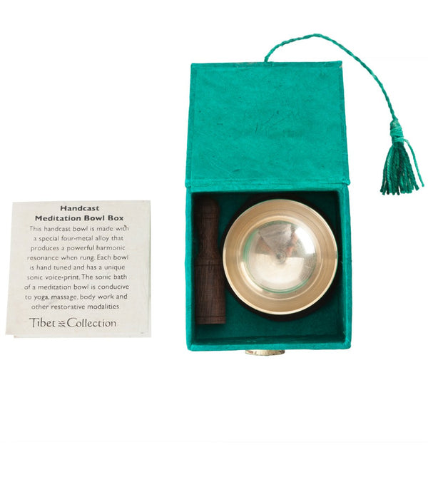 dZi Heart Chakra Mini Meditation Bowl Box