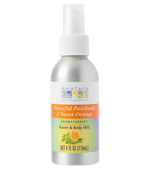 Aura Cacia Peaceful Patchouli/Sweet Orange Mist