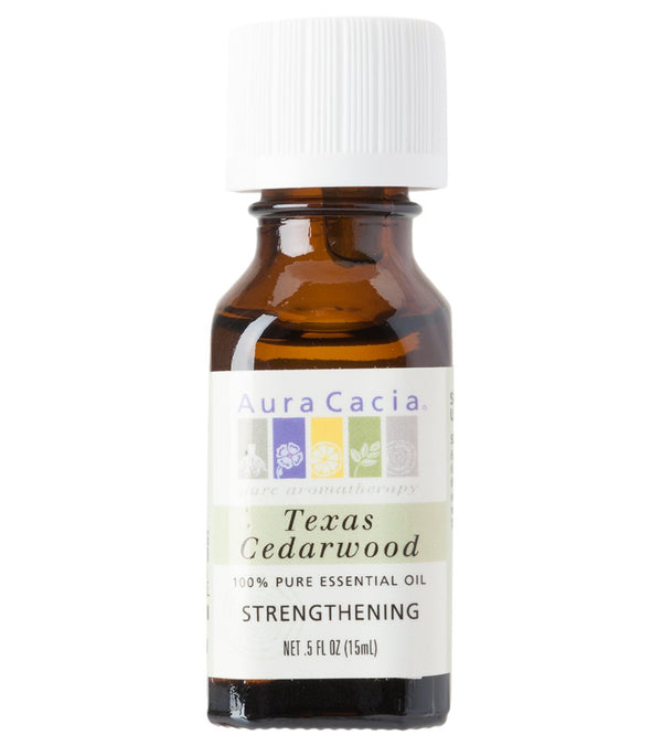 Aura Cacia Cedarwood, Texas 100% Pure Essential Oil - 0.5 oz