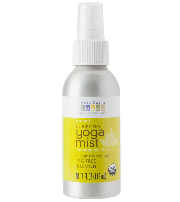 Aura Cacia Purifying, Tea Tree & Lemon Certified Organic Yoga Mist