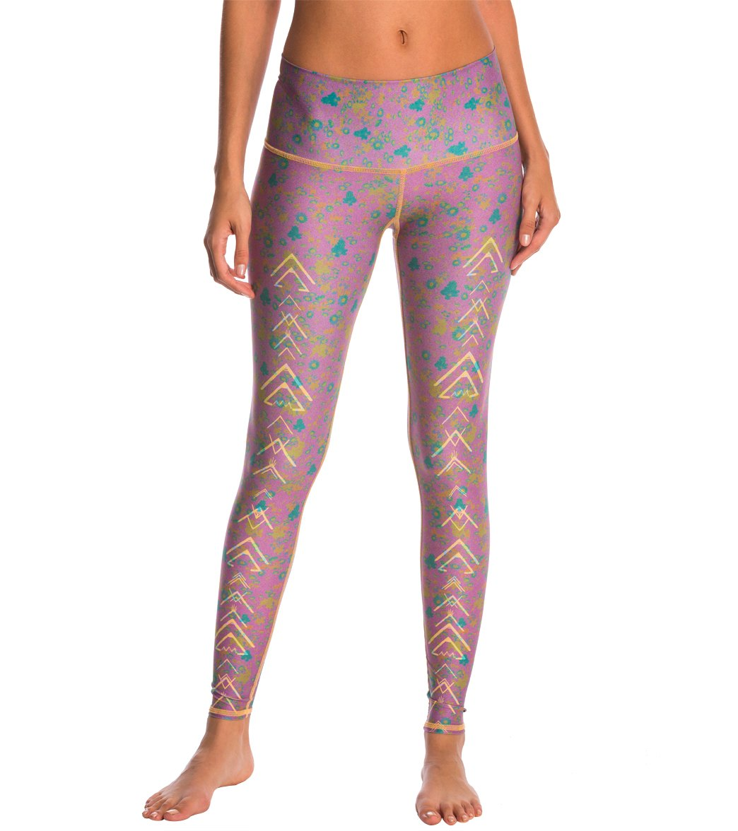 Puppy On Meadow Womens Printed Yoga Pants High Waisted Workout Leggings