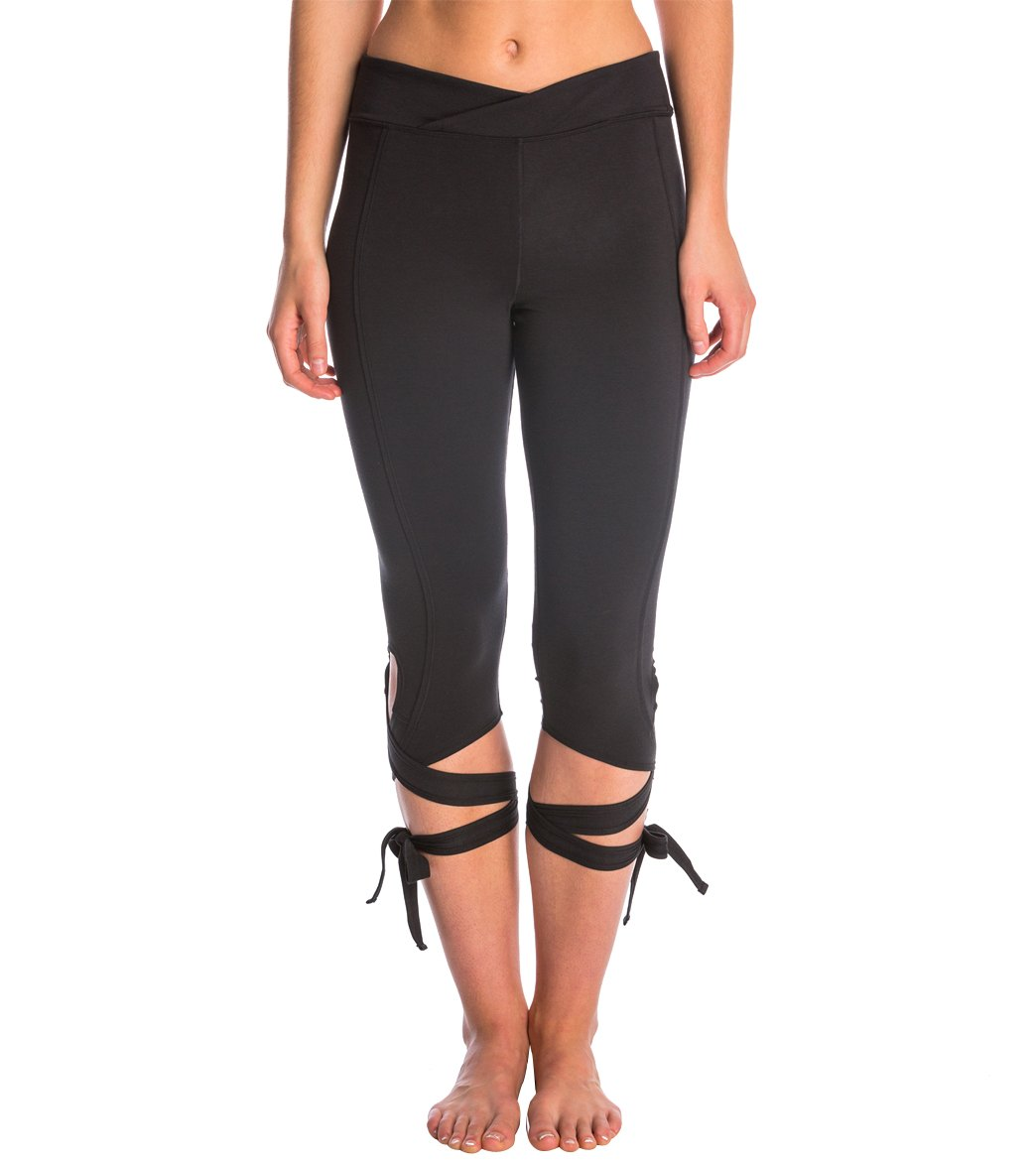 eced3e32547e2 Free People Movement Turnout Yoga Capris at YogaOutlet.com - Free Shipping
