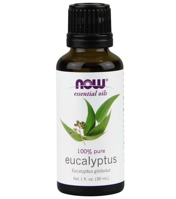 NOW 100% Pure Eucalyptus Essential Oil 1 oz