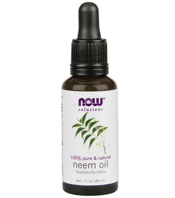 NOW 100% Pure Neem Oil 1 oz