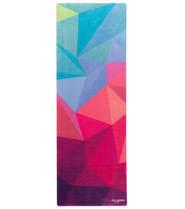"Yoga Design Lab Geo Travel Yoga Mat 70"" 1mm"