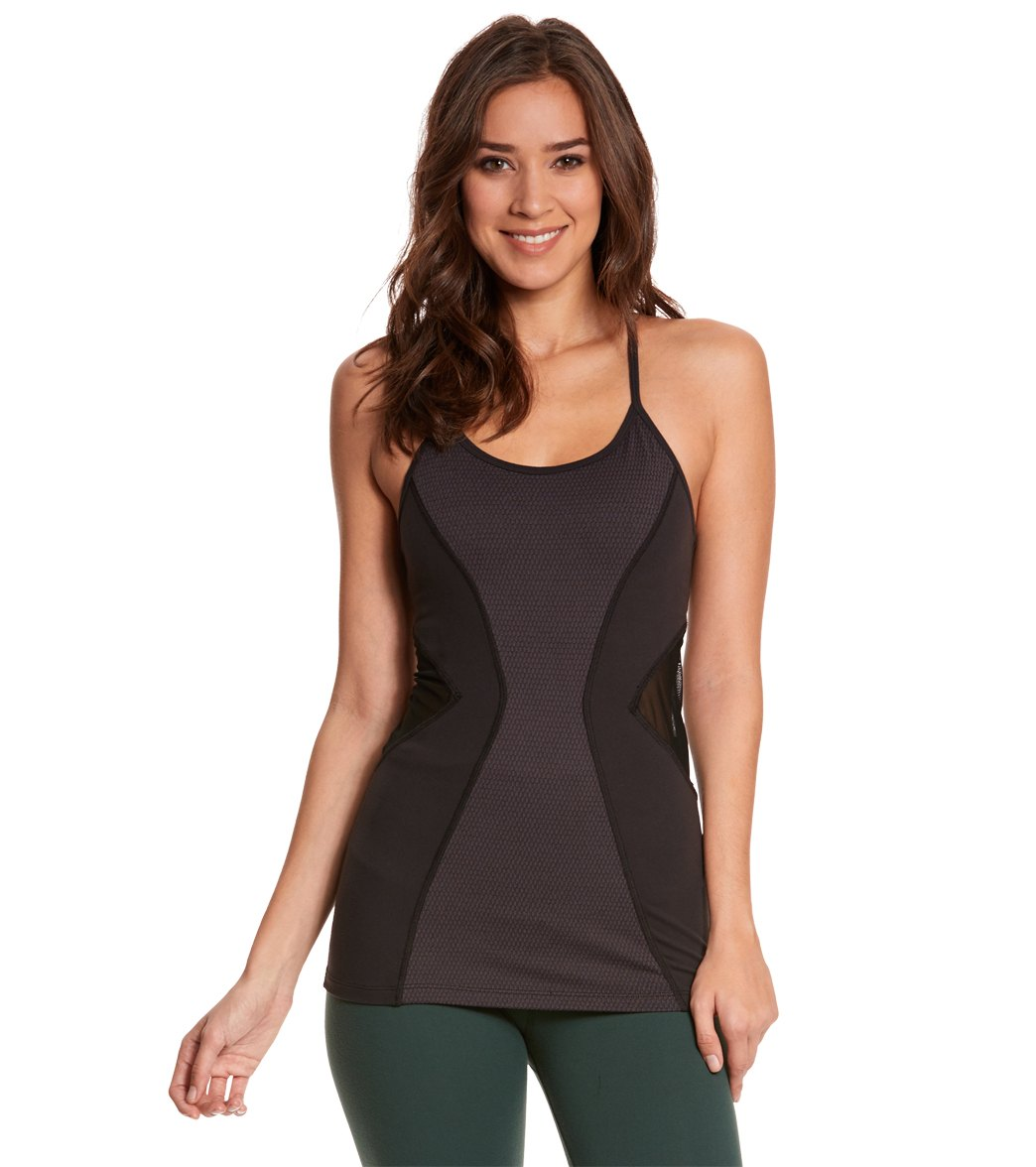 206343fa2d55 Beyond Yoga Deco Mirror Paneled Yoga Tank Top at YogaOutlet.com - Free  Shipping