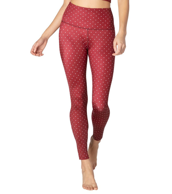 Beyond Yoga Lux Printed High Waisted Yoga Leggings