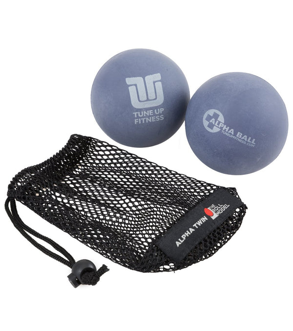 Yoga TuneUp ALPHA TWIN Therapy Ball Set in Tote