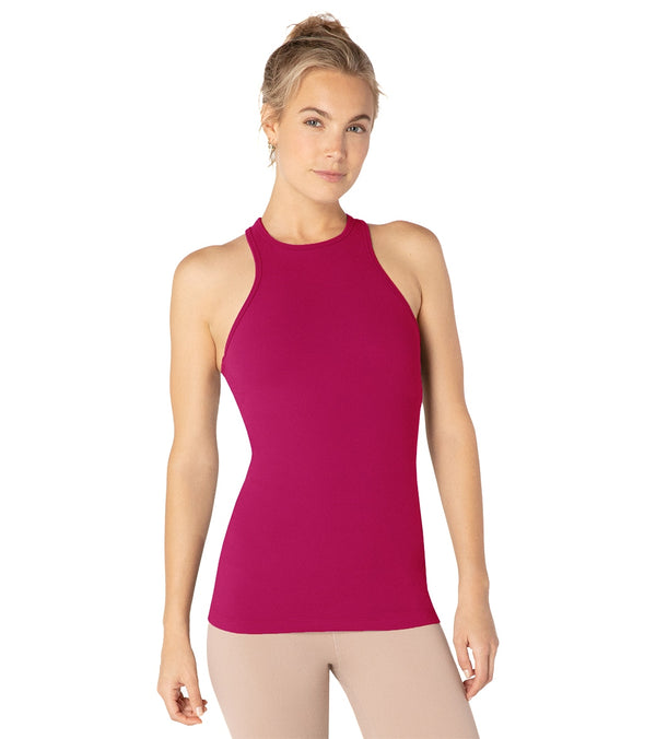 Beyond Yoga Under Lock and Keyhole Yoga Tank Top