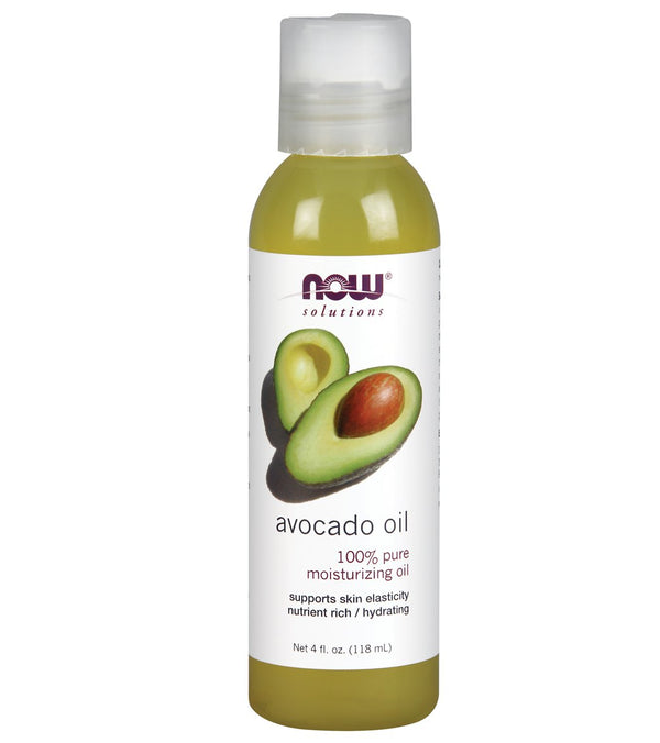 NOW 100% Pure Avocado Oil 4 oz
