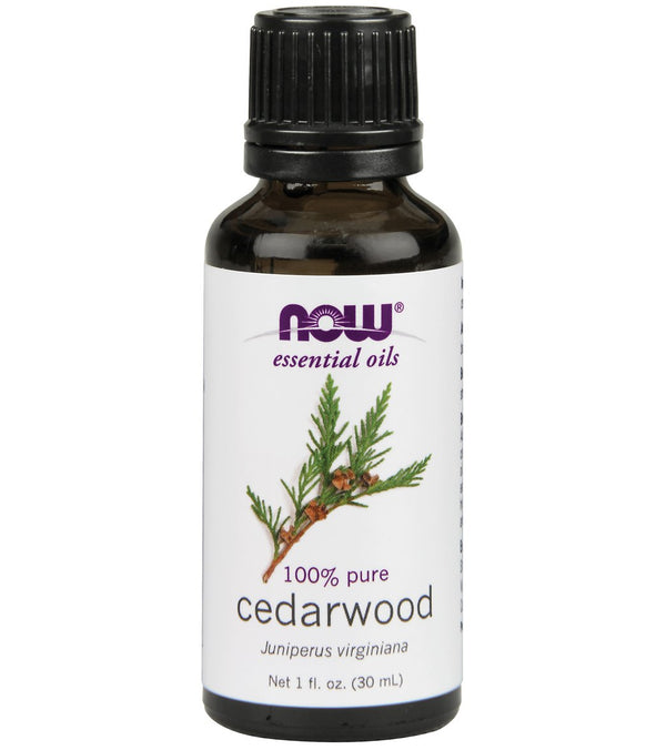 NOW 100% Pure Cedarwood Oil 1 oz