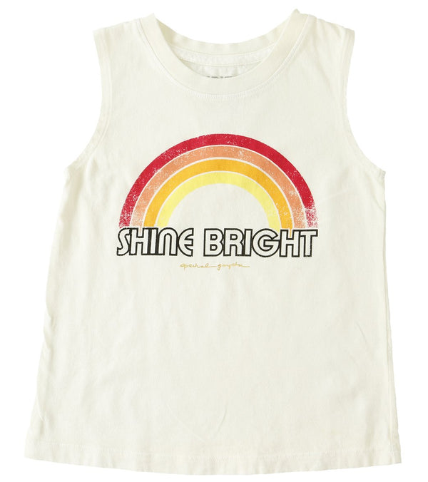 Spiritual Gangster Kids Shine Bright Yoga Tank - 8