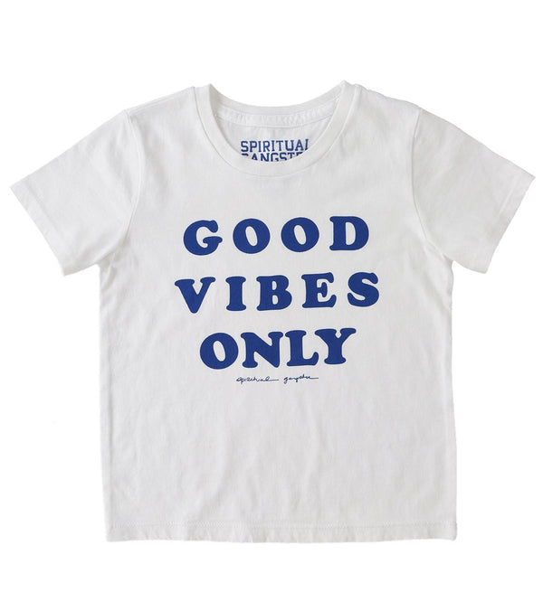 Spiritual Gangster Kids Good Vibes Only Yoga Tee - 8