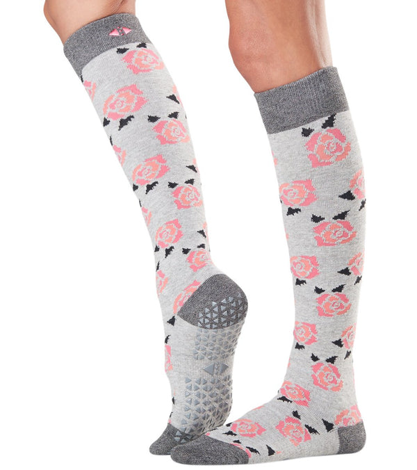 Tavi Noir Jane Knee High Barre Grip Socks